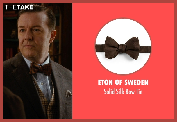 Eton of Sweden brown tie from Night at the Museum: Secret of the Tomb seen with Ricky Gervais (Dr. McPhee)