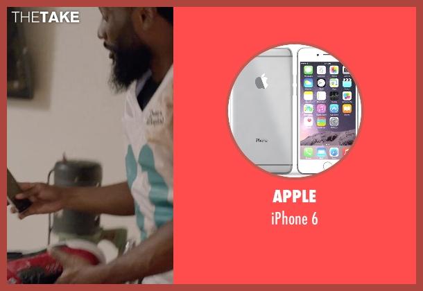 Apple 6 from Ballers seen with Ricky Jerret (John David Washington)