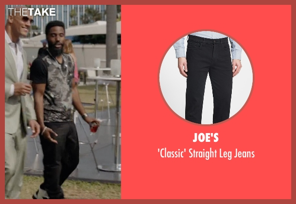 Joe's black jeans from Ballers seen with Ricky Jerret (John David Washington)