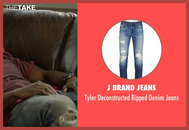 J Brand Jeans blue jeans from Ballers seen with Ricky Jerret (John David Washington)
