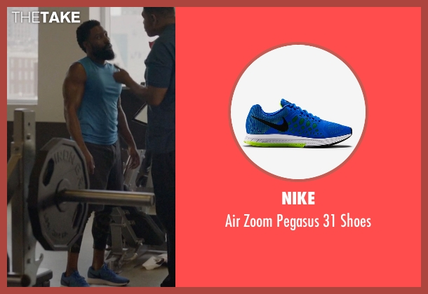 Nike blue shoes from Ballers seen with Ricky Jerret (John David Washington)