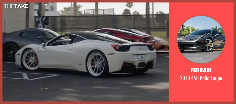 Ferrari coupe from Ballers seen with Ricky Jerret (John David Washington)