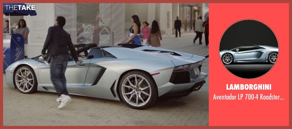 Lamborghini coupe from Ballers seen with Ricky Jerret (John David Washington)