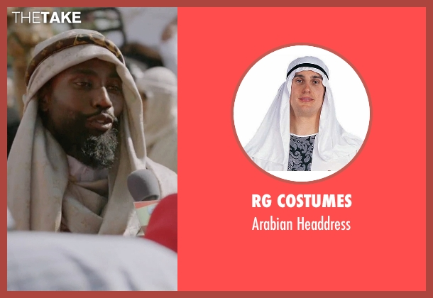 RG Costumes headdress from Ballers seen with Ricky Jerret (John David Washington)