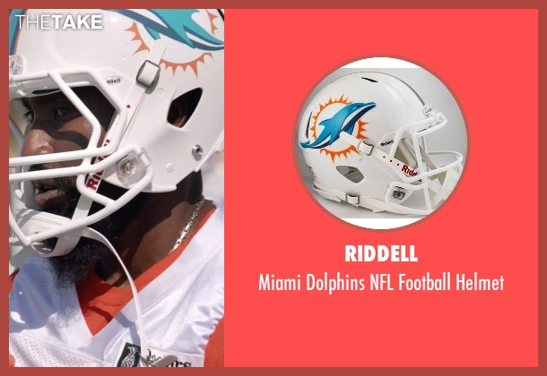 Riddell helmet from Ballers seen with Ricky Jerret (John David Washington)