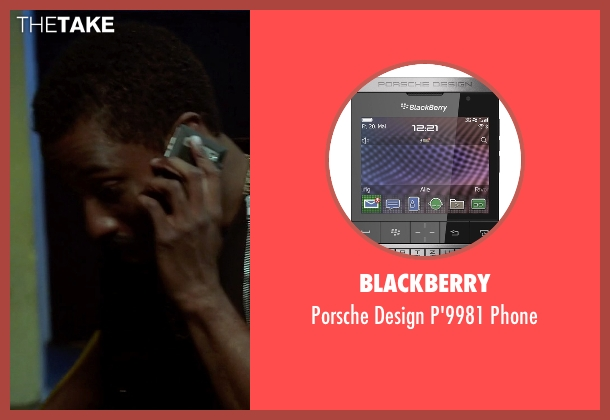 Blackberry phone from Ballers seen with Ricky Jerret (John David Washington)