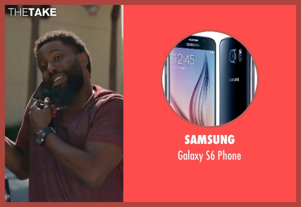 Samsung phone from Ballers seen with Ricky Jerret (John David Washington)