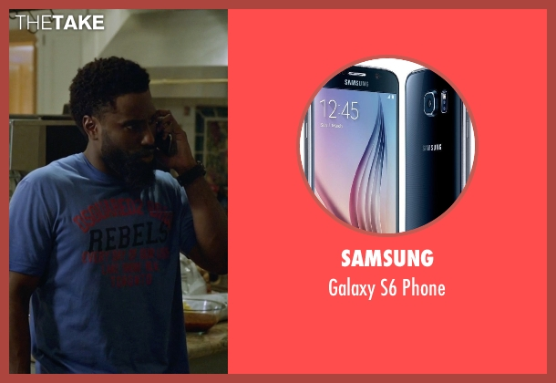 Samsung phone from Ballers seen with Ricky Jerret (John David Washington)