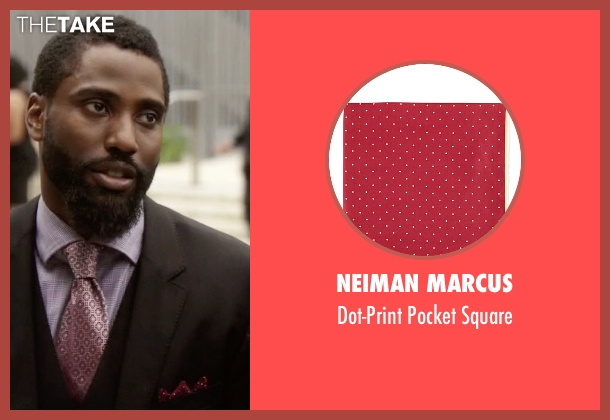 Neiman Marcus red square from Ballers seen with Ricky Jerret (John David Washington)