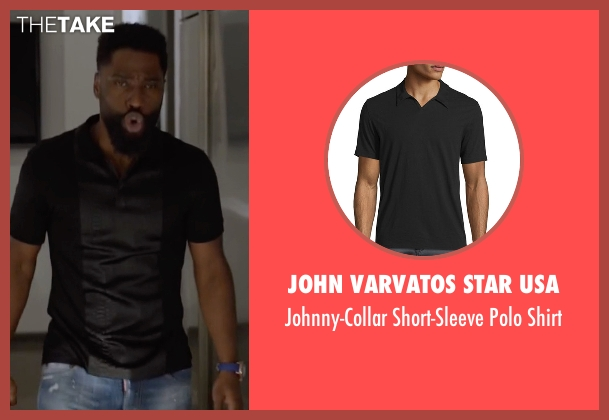 John Varvatos Star USA shirt from Ballers seen with Ricky Jerret (John David Washington)