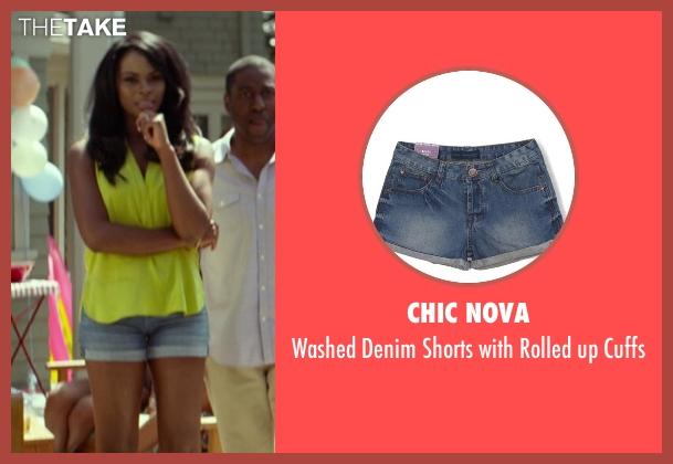 Chic Nova blue cuffs from Ride Along