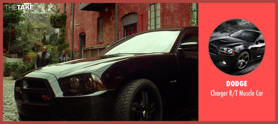 Dodge car from Ride Along seen with Ice Cube (James Payton)