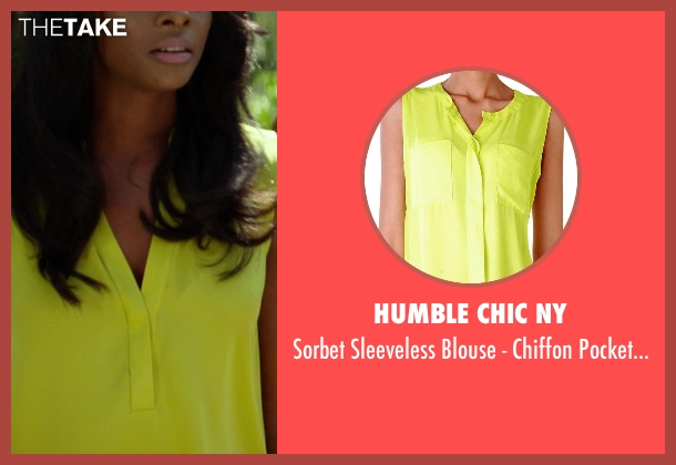 Humble Chic NY yellow top from Ride Along