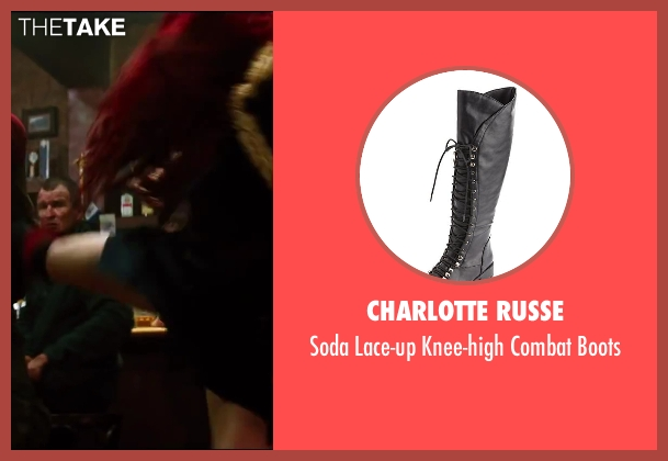 Charlotte Russe black boots from The Wolverine seen with Rila Fukushima (Yukio)