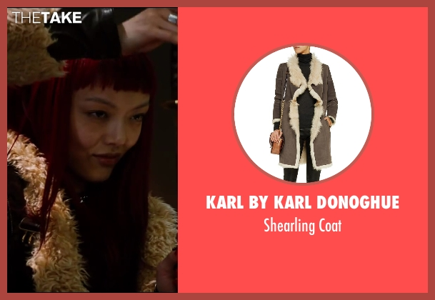 Karl By Karl Donoghue brown coat from The Wolverine seen with Rila Fukushima (Yukio)