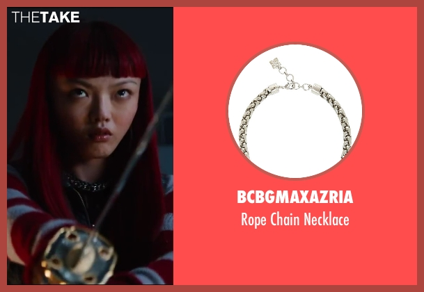 BCBGMAXAZRIA necklace from The Wolverine seen with Rila Fukushima (Yukio)