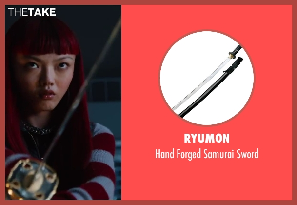 Ryumon sword from The Wolverine seen with Rila Fukushima (Yukio)