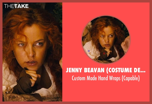 Jenny Beavan (Costume Designer) wraps from Mad Max: Fury Road seen with Riley Keough (Capable)