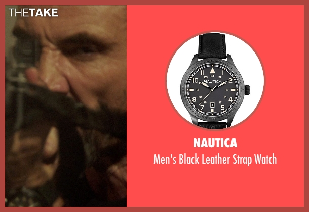 Nautica black watch from Blackhat seen with Ritchie Coster (Kassar)