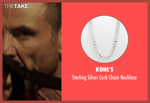 Kohl's silver necklace from Blackhat seen with Ritchie Coster (Kassar)