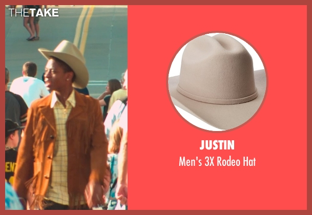 Justin beige hat from Me and Earl and the Dying Girl seen with RJ Cyler (Earl)