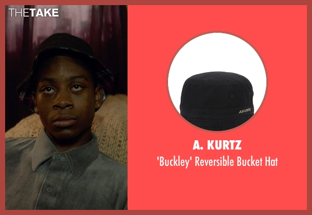 A. Kurtz black hat from Me and Earl and the Dying Girl seen with RJ Cyler (Earl)