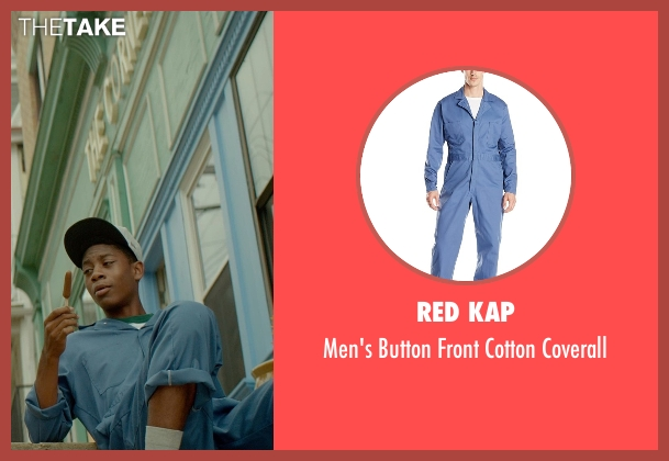 Red Kap blue coverall from Me and Earl and the Dying Girl seen with RJ Cyler (Earl)