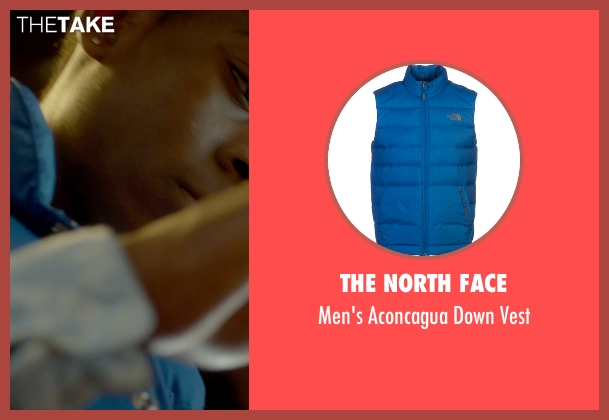 The North Face blue vest from Me and Earl and the Dying Girl seen with RJ Cyler (Earl)