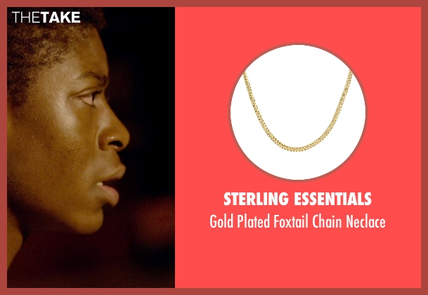 Sterling Essentials gold neclace from Me and Earl and the Dying Girl seen with RJ Cyler (Earl)
