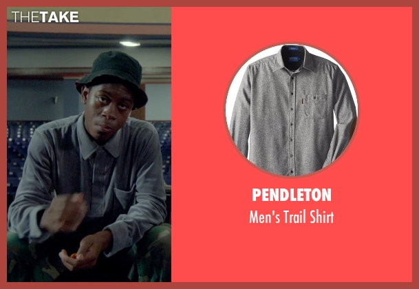 Pendleton gray shirt from Me and Earl and the Dying Girl seen with RJ Cyler (Earl)