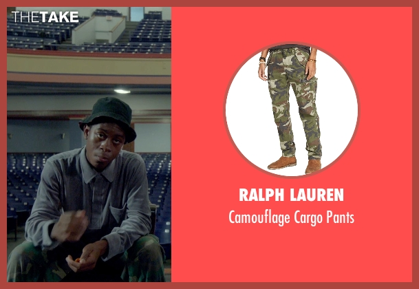 Ralph Lauren green pants from Me and Earl and the Dying Girl seen with RJ Cyler (Earl)