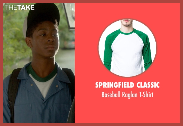 Springfield Classic green t-shirt from Me and Earl and the Dying Girl seen with RJ Cyler (Earl)