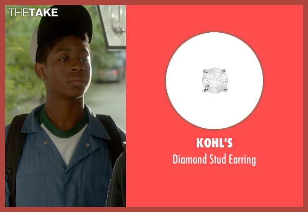 Kohl's silver earring from Me and Earl and the Dying Girl seen with RJ Cyler (Earl)