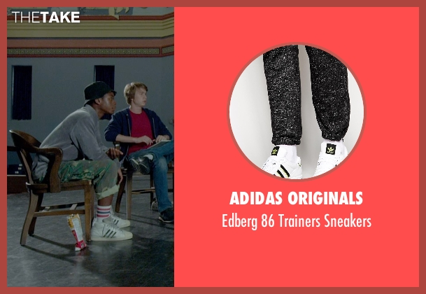 Adidas Originals white sneakers from Me and Earl and the Dying Girl seen with RJ Cyler (Earl)