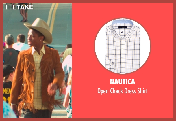 Nautica yellow shirt from Me and Earl and the Dying Girl seen with RJ Cyler (Earl)