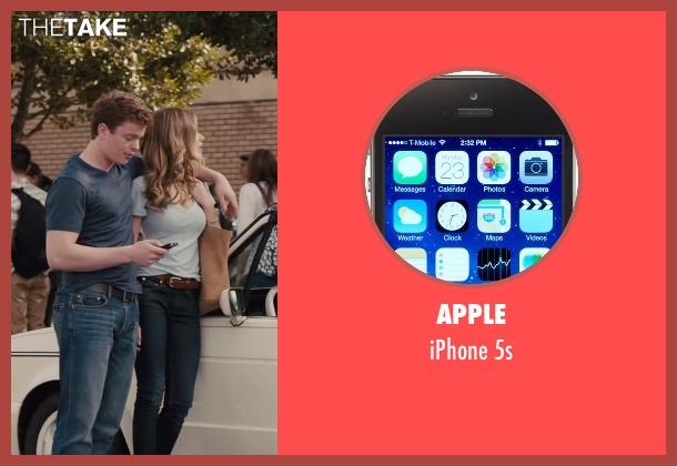 Apple 5s from Paper Towns seen with RJ Shearer (Chuck Parsons)