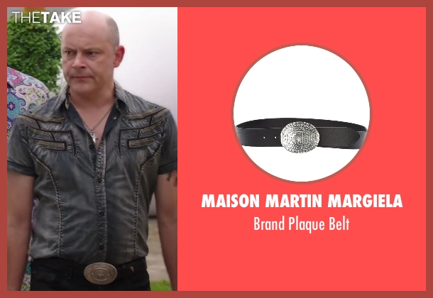 Maison Martin Margiela black belt from Hot Tub Time Machine 2 seen with Rob Corddry (Lou)