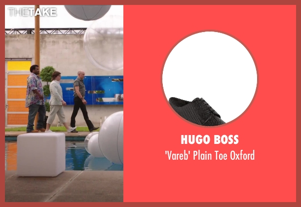 Hugo Boss black oxford from Hot Tub Time Machine 2 seen with Rob Corddry (Lou)