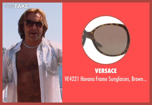 Versace brown lenses from Hot Tub Time Machine 2 seen with Rob Corddry (Lou)