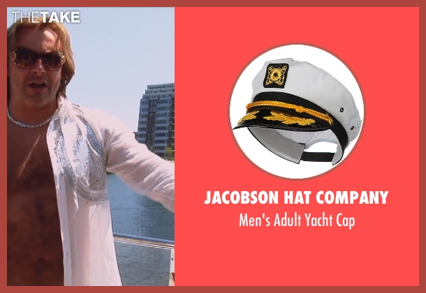 Jacobson Hat Company cap from Hot Tub Time Machine 2 seen with Rob Corddry (Lou)