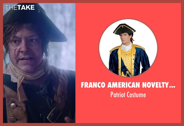 Franco American Novelty Company costume from Hot Tub Time Machine 2 seen with Rob Corddry (Lou)
