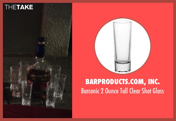 Barproducts.com, Inc. glass from Hot Tub Time Machine 2 seen with Rob Corddry (Lou)