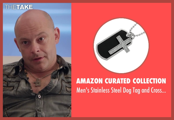 Amazon Curated Collection necklace from Hot Tub Time Machine 2 seen with Rob Corddry (Lou)