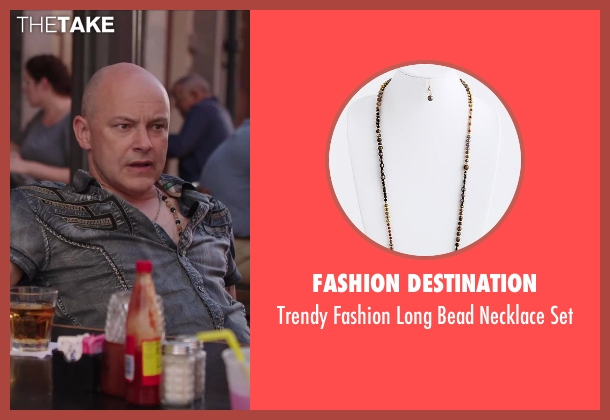Fashion Destination set from Hot Tub Time Machine 2 seen with Rob Corddry (Lou)