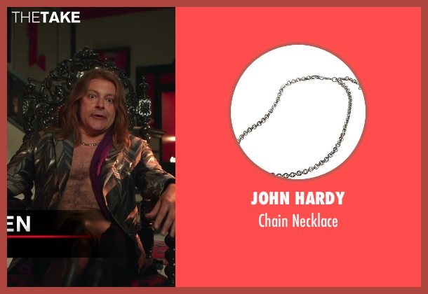 John Hardy silver necklace from Hot Tub Time Machine 2 seen with Rob Corddry (Lou)