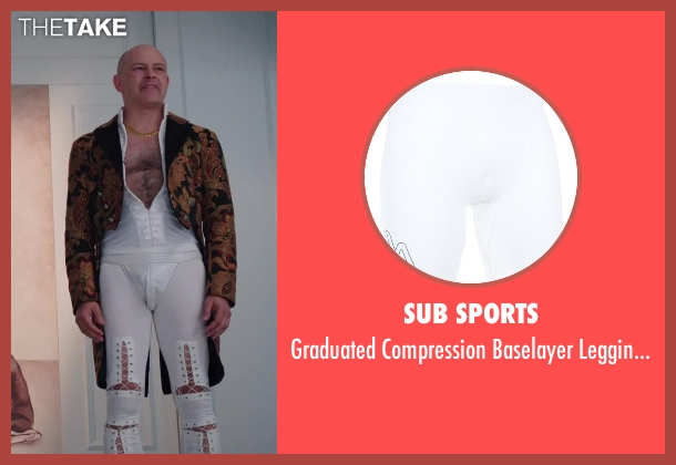 Sub Sports white tights from Hot Tub Time Machine 2 seen with Rob Corddry (Lou)