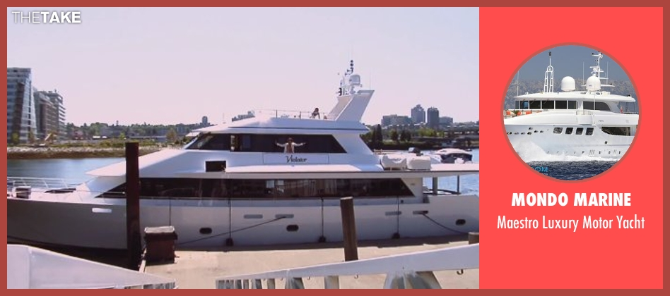 Mondo Marine yacht from Hot Tub Time Machine 2 seen with Rob Corddry (Lou)