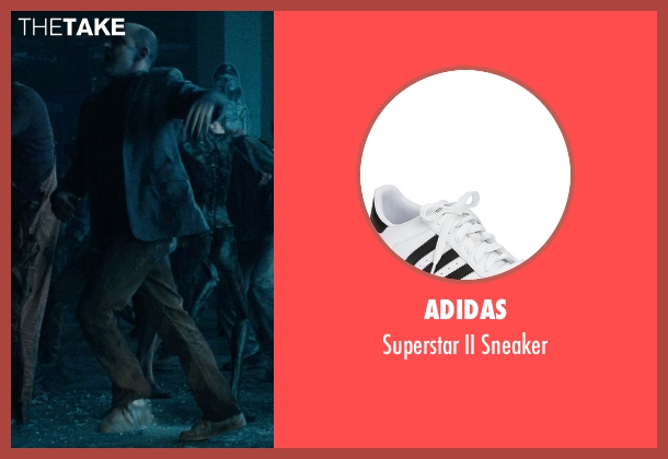 Adidas white sneaker from Warm Bodies seen with Rob Corddry ('M')