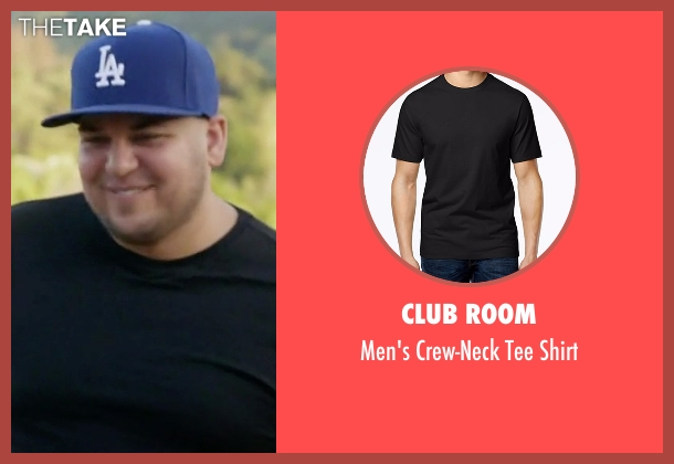 Club Room black shirt from Rob & Chyna seen with Rob Kardashian