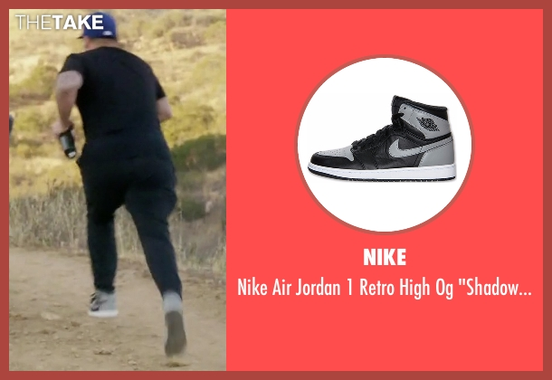 Nike gray shoes from Rob & Chyna seen with Rob Kardashian